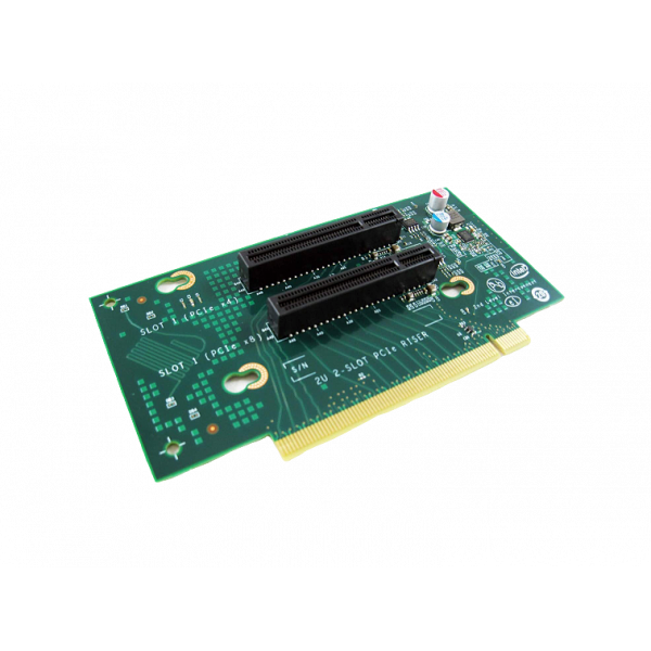 Intel A2UX8X4RISER 2U Spare Short Riser New Bulk Packaging