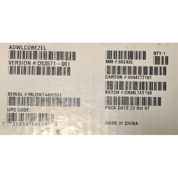Intel ADWLCDBEZEL 1U Bezel For SR1400 With LCD Cut-Out New Bulk Packaging