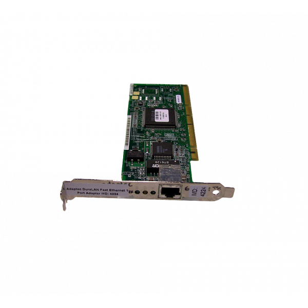 Adaptec ANA-62011 Single-Port, 64-Bit PCI Network Interface Card Used System Pull OEMXS # 4224