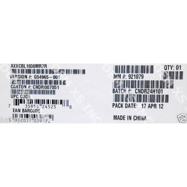 Intel AXXCBL1030MR7R Cable Kit New Bulk Packaging