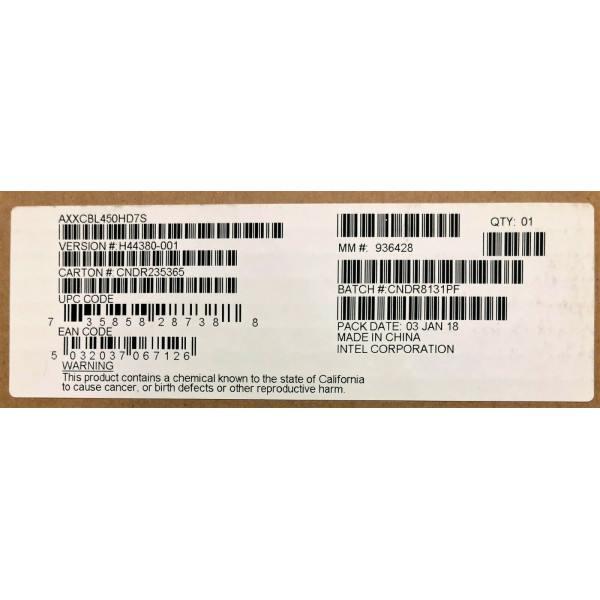 Intel AXXCBL450HD7S Mini-SAS Cable Kit New Bulk Packaging