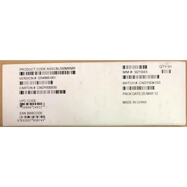 Intel AXXCBL550MRMR Cable kit New Bulk Packaging