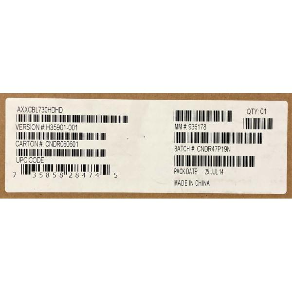 Intel AXXCBL730HDHD Cable Kit New Bulk Packaging