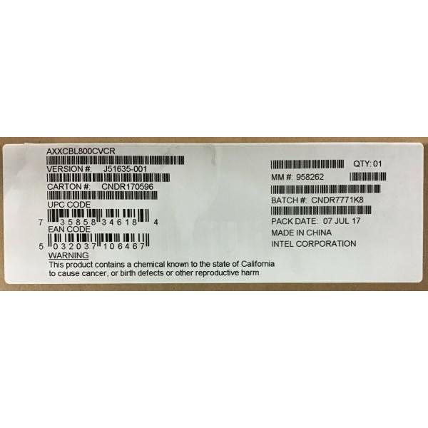 Intel AXXCBL800CVCR Oculink Cable Kit New Bulk Packaging