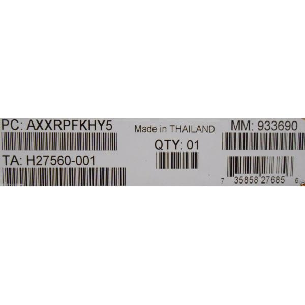 Intel AXXRPFKHY5 RAID Hybrid RAID 5 New Bulk Packaging