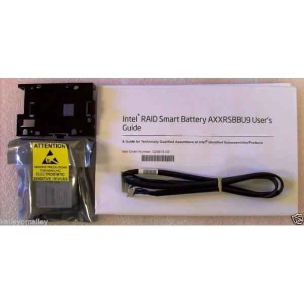 Intel AXXRSBBU9 RAID Smart Battery New Bulk Packaging