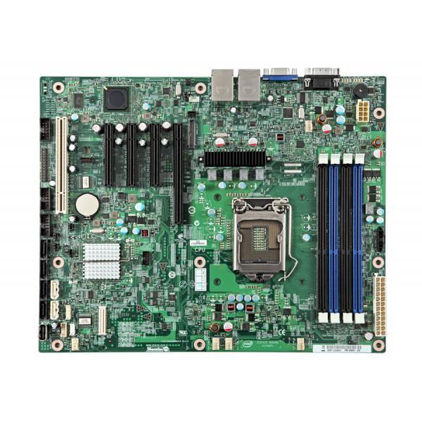 Intel S1200BTLR BBS1200BTLR ATX, LGA1155, DDR3 ECC New Single Server Board Only