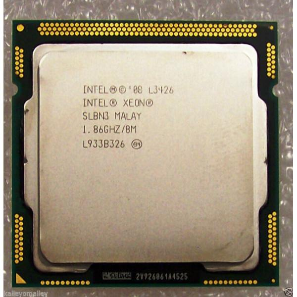 Intel BX80605L3426 SLBN3 Xeon L3426 8M Cache 1.86 GHz Tested Customer Return