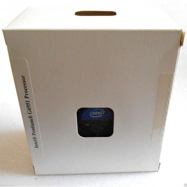 Intel BX80616G6951 SLBTF Pentium G6951 3MB 2.80Ghz LGA1156 New Retail Box