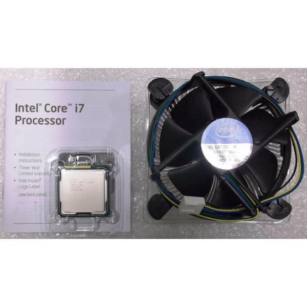 Intel BX80623I72700K SR0DG i7-2700K LGA1155 95W 8M Cache 3.50 GHz Tested Customer Return