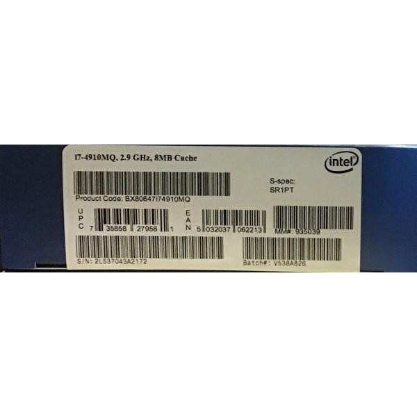 Intel BX80647I74910MQ SR1PT Core i7-4910MQ Processor 8M Cache,up to 3.90 GHz New Retail Box