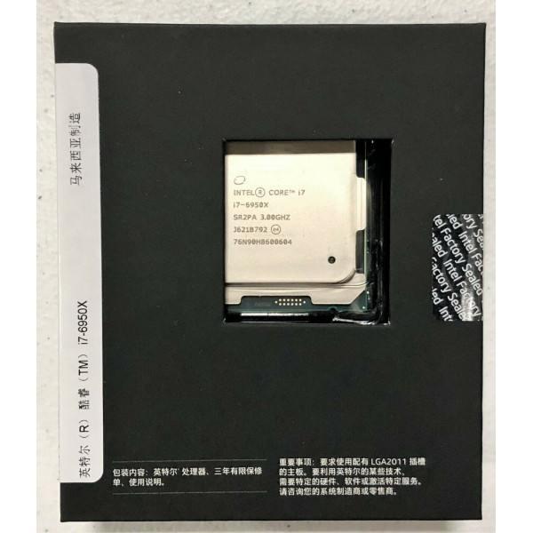 Intel BXC80671I76950X SR2PA Core i7-6950X Processor Extreme Edition CN Version New Retail Box