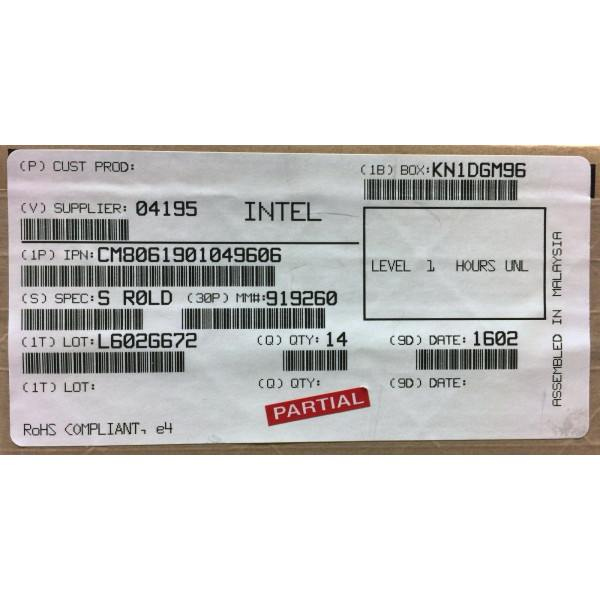 Intel CM8061901049606 SR0LD Core i7-3820 Processor 10M Cache,up to 3.80 GHz New Bulk Packaging