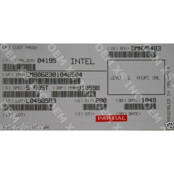 Intel CM8062301046504 SR05T Pentium Processor G620T 3M Cache, 2.20 GHz New Bulk Packaging