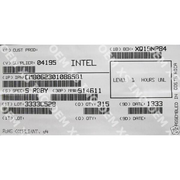 Intel CM8062301088501 SR0BY Celeron Processor G440 1M Cache, 1.60 GHz New Bulk Packaging