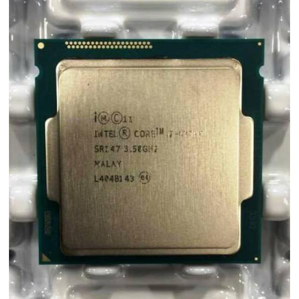 Intel CM8064601464206 SR147 Core i7-4770K Processor 8M Cache, up to 3.90 GHz New Bulk Packaging