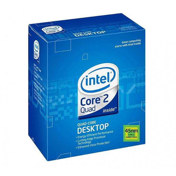 Intel Core2 Quad Processor BXC80580Q8200 SLG9S Q8200 4M Cache, 2.33 GHz, 1333 MHz FSB New Retail Box