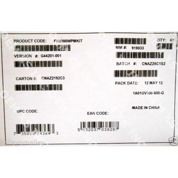 Intel FH2000WPMKIT Chassis Mechanical and Electrical Maintenance Kit New Bulk Packaging