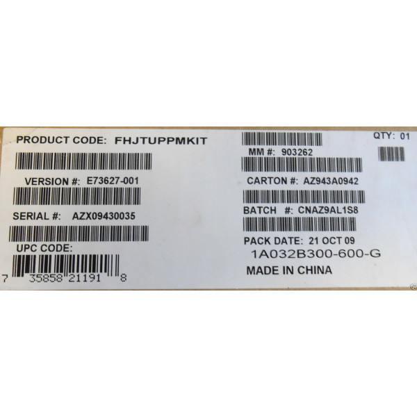 Intel FHJTUPPMKIT Preventative Maintenance Kit for SR1630, SR1630HGP, SR1630GPRX New Bulk Packaging