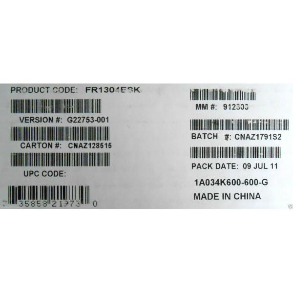 Intel FR1304ESK Electrical Spares Kit New Bulk Packaging