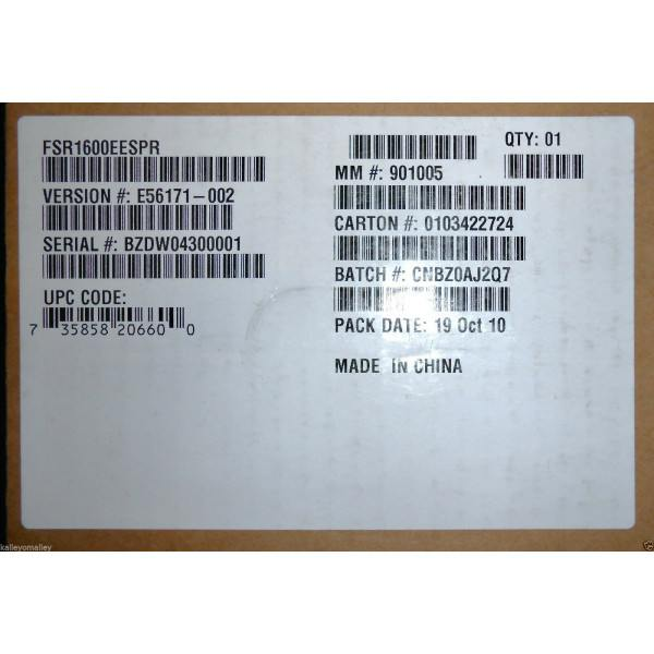 Intel FSR1600EESPR Electrical Spares Kit New Bulk Packaging