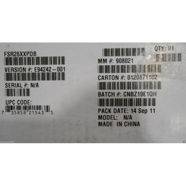 Intel FSR26XXPDB 750W Power Distribution Board New Bulk Packaging