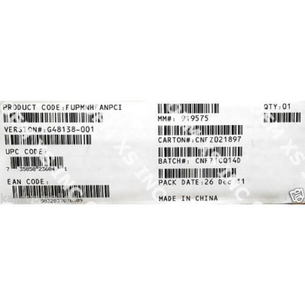 Intel FUPMNHFANPCI Fixed Fan Spare Kit New Bulk Packaging