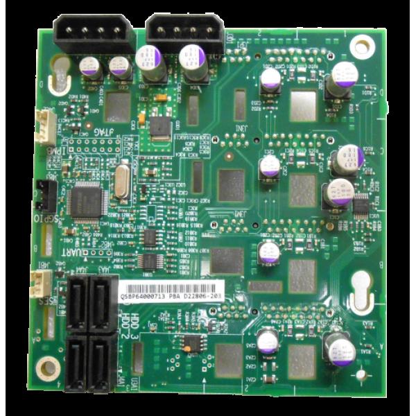 Intel FXX4DRV3GBRD SD22806 4-Drive Backplane Witho...