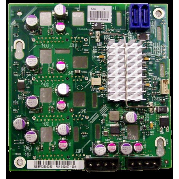Intel FXX4DRV3GEXPBRD SD22807 4-Drive Expander Backplane Only New Bulk Packaging