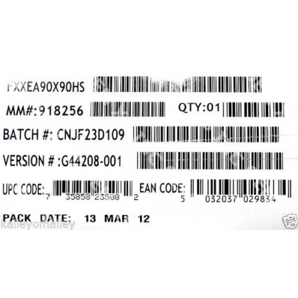 Intel FXXEA90X90HS 1U Heat Sink New Bulk Packaging