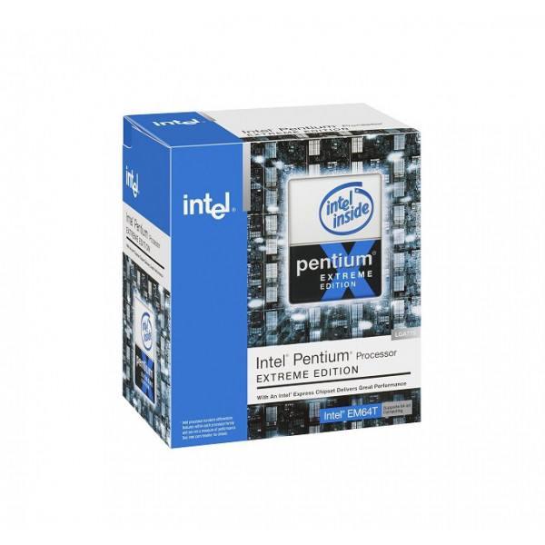Intel Pentium ProcessorBX80551PGH3200F SL8FK Extreme Edition 8402M Cache, 3.20 GHz, 800 MHz FSB New Retail Box