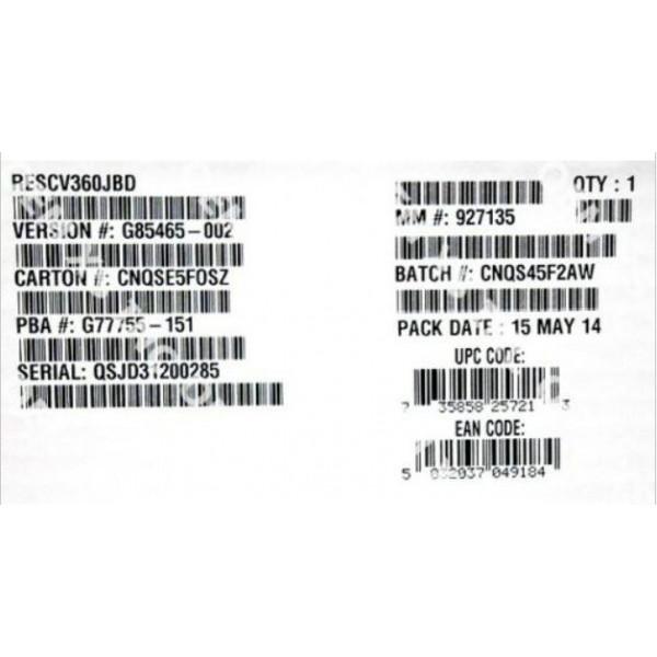 Intel RESCV360JBD 36-port SAS Dual-port Enabled Expander For Intel JBOD Systems, New Bulk Packaging