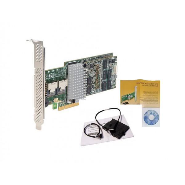 Intel RS25AB080 RAID Controller SAS/SATA, PCIe x8,...