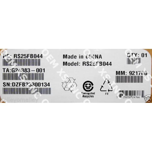 Intel RS25FB044 RAID Controller SAS/SATA, Low-Profile MD2 New Bulk Packaging