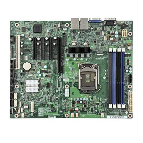 Intel S1200BTLRM ATX LGA1155 95 W DDR3 ECC UDIMM 1333/1600 New Retail Box