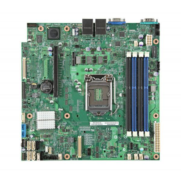 Intel BBS1200V3RPO S1200V3RPO Server Board uATX, 1U Rack, LGA1150 Refurbished Board Only OEMXS#212121S