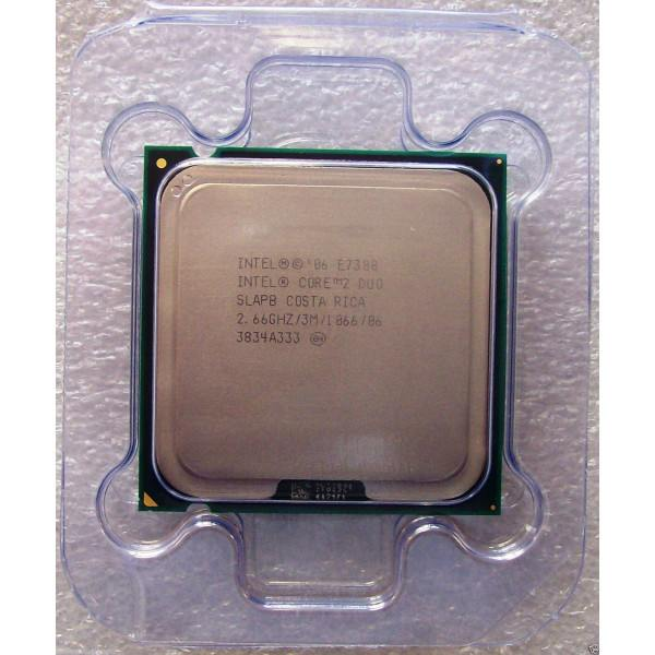 Intel SLAPB Core 2 Duo E7300 3M Cache 2.66 GHz 1066 MHz FSB New Bulk Packaging