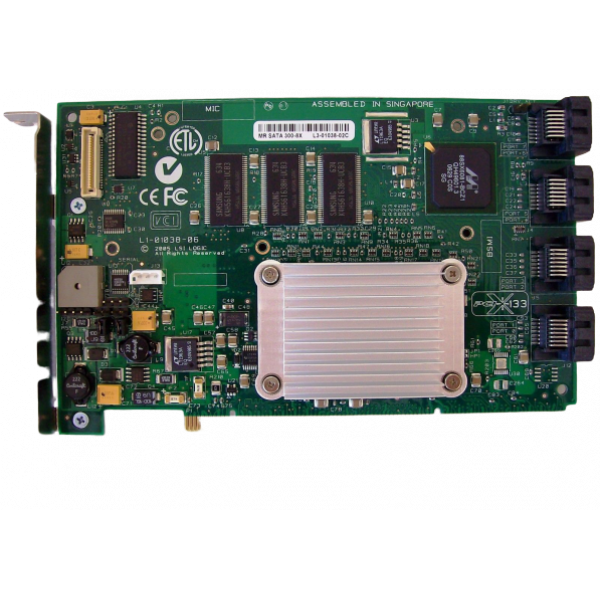 Intel SRCS28X RAID Controller Full-Height PCI-x 12...