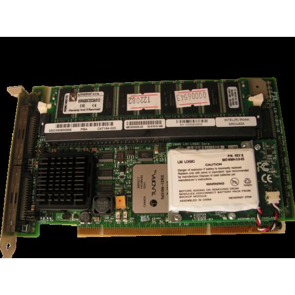 Intel SRCU42X Dual-Channel Ultra320 PCI-X Refurbis...