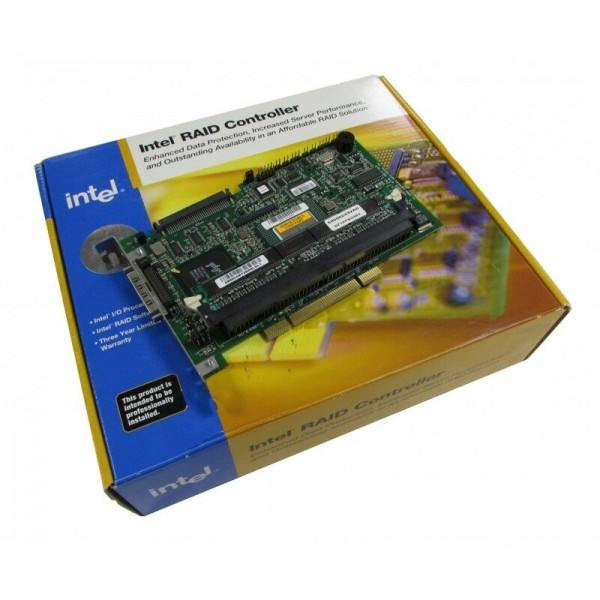 Intel SRCZCR Low Profile U160/U320 SCSI Raid Contr...