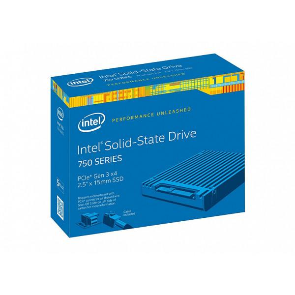Intel SSDPE2MW012T4X1 SSD 750 Series 1.2TB, 2.5in ...