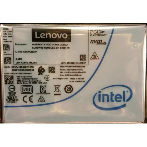 Intel SSDPE2KE064T7L1 SSD DC P4600 Series 6.4TB, 2.5in PCIe 3.1 x4, 3D1, TLC New Bulk Packaging