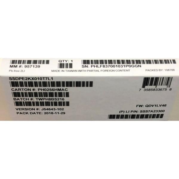 Intel SSDPE2KX010T7L1 SSD DC P4500 Series 1.0TB, 2.5in PCIe 3.1 x4, 3D1, TLC New Bulk Packaging