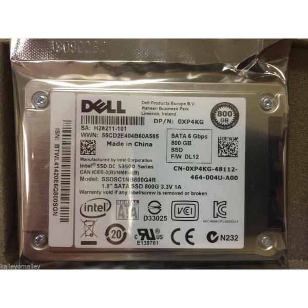 Intel / Dell SSDSC1NB800G4R1 0XP4KG SSD DC S3500 Series 800GB 1.8in SATA 6Gb/s New Bulk Packaging